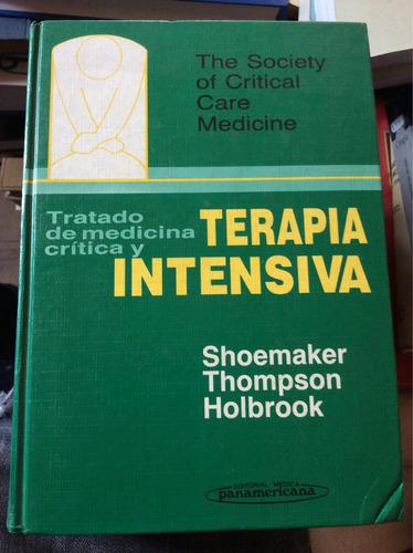 terapia intensiva - shoemaker