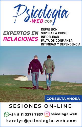 terapia para parejas - vía online - videocall whatsapp