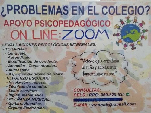 terapias on line de lenguaje, aprendizaje y conducta