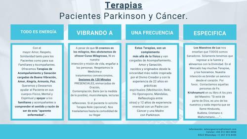 terapias pacientes parkinson y cáncer.