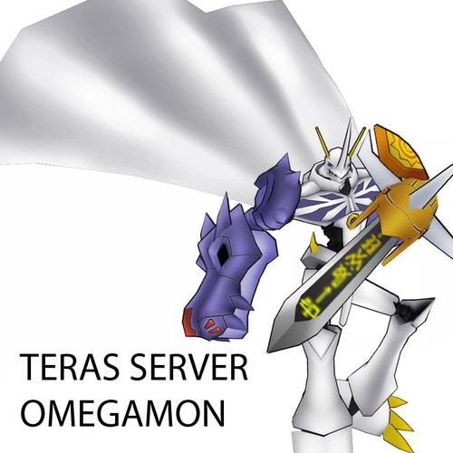 teras - server omegamon digimon masters online gdmo dmo