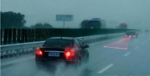 tercer stop láser moto carro camion  - niebla luz trasera