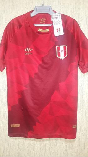 tercera camiseta peru seleccion peruana tela original