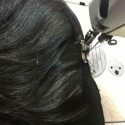 tercimento de cabelo para ponto americano