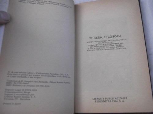 teresa, filosofa por anonimo sonrisa vertical orbis erotismo