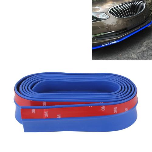 terior protector 2,5 delantero para vehiculo labio azul