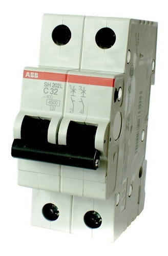termica bipolar abb 2x32 amp oferta! elect.avellaneda