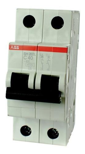 termica bipolar abb 2x40 amp oferta! elect.avellaneda