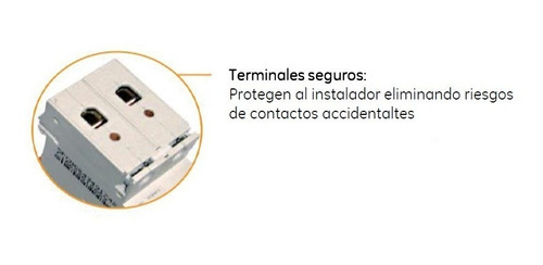 termica general electric 2x40a