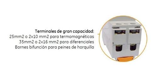 termica general electric 4x25a