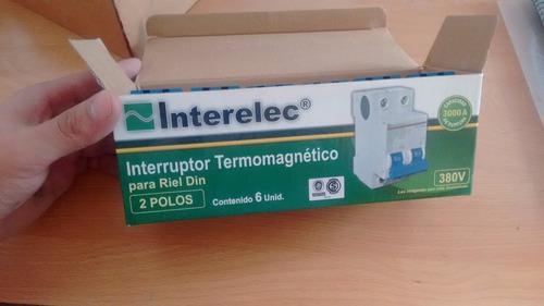 termica interelec 32a x 6 unidades