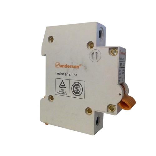 termica llave unipolar 1x32 termomagnetica 32amp