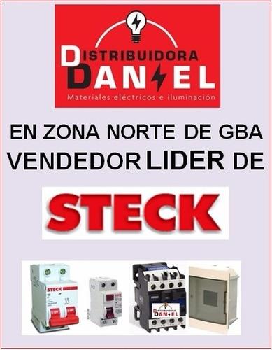 térmica steck 2x10-2x20-2x25-2x32amp distribuidora daniel