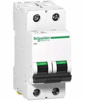 térmica termomagnetica bipolar schneider 2x10/16/20/25a