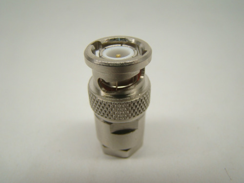 terminador bnc 75 ohms 0,5w 1% precisão video sdi/analógico