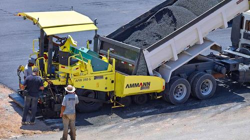 terminadora de asfalto ammann afw350 dt fsv g