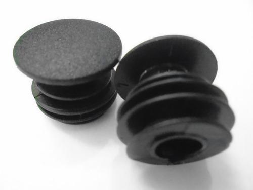 terminais/tampinhas/ponteiras/plug de guidão bike( 1 par).