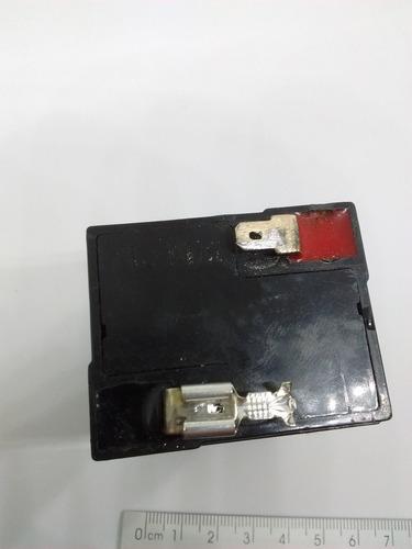 terminal de bateria alarme fêmea 6,3mm plug com trava 20pçs