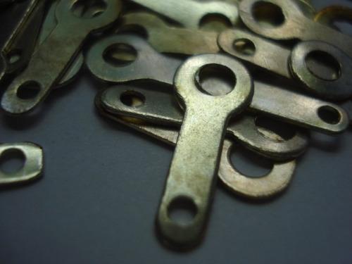 terminal de cobre y plata vintage