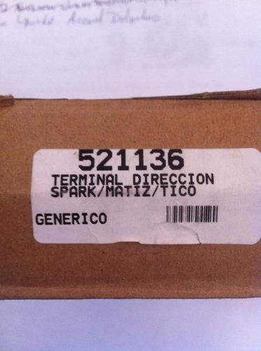 terminal de dirección ext.spark/matiz/tico(521136)