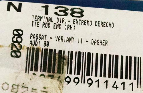 terminal de direção direito passat/variant il - nakata n138
