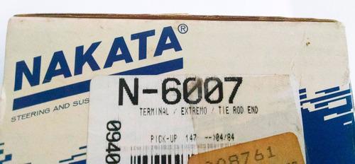 terminal de direção fiat 147 - nakata n6007