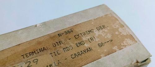 terminal de direção lado direito opala/caravan - nakata n364