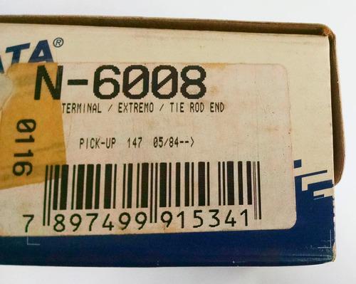 terminal de direção (longa) fiat 147 - nakata n6008