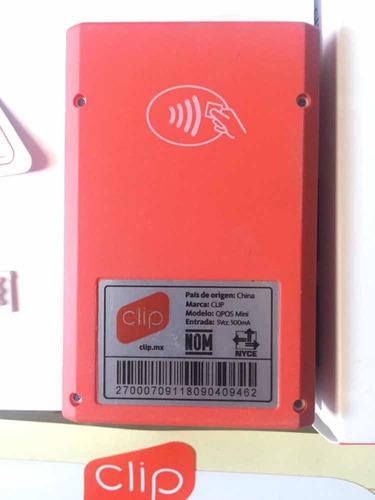 terminal de tarjeta clip pro
