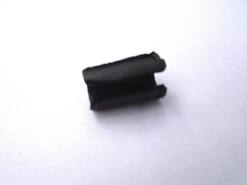 terminal guia quadro para conduite nylon preto (10 peças)