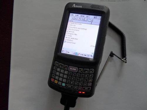 terminal movil lector laser argox pt90 con 44 teclas qwerty