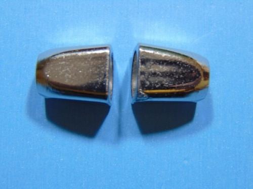 terminal poliester metalizado color niquelado x 500 unidades