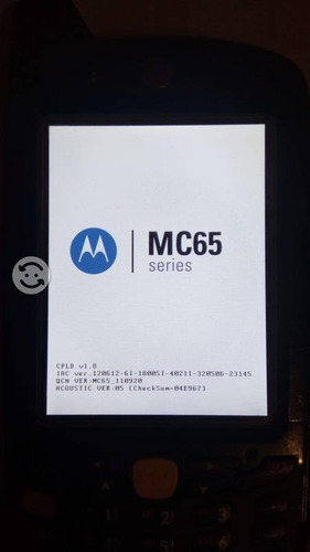 terminal portatil motorola mc65 seminueva