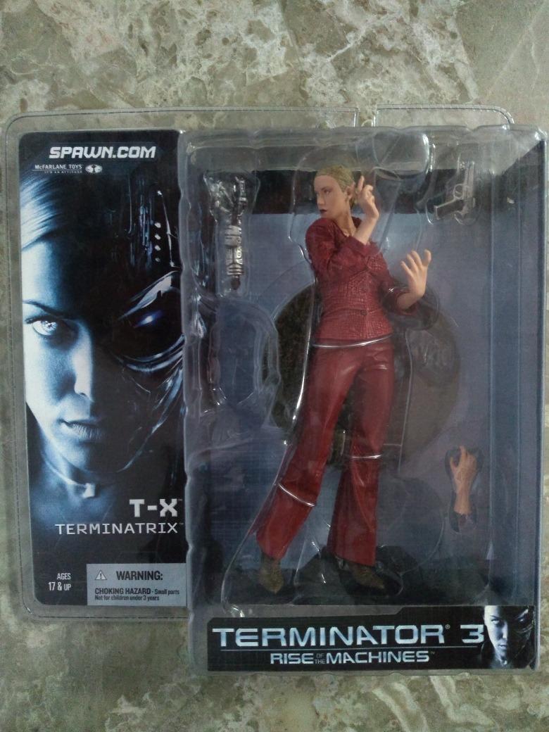 Terminator 3 Terminatrix Mac Farlane Toys Nuevo
