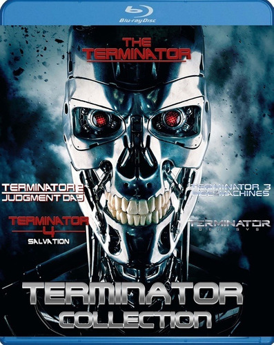 terminator bluray coleccion latino