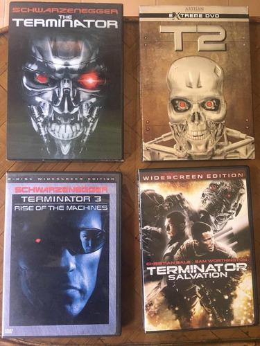 terminator dvd coleccion