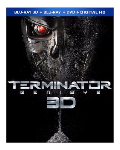 terminator genisys pelicula blu-ray 3d + blu-ray + dvd + dig