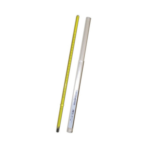 termômetro astm e-1   9c  -5+110:0,5c hg 290mm imersão 57mm