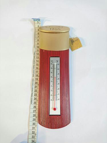 termômetro balote calibre 12 - decoração