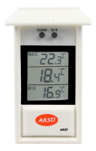 termômetro casinha digital maxima e minima para frio akso