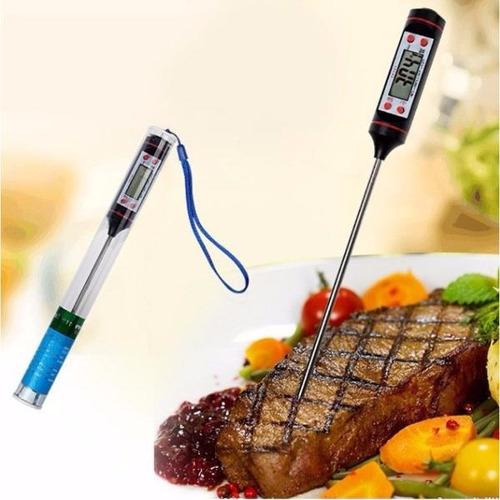 termômetro culinário digital espeto alimentos cozinha tp101