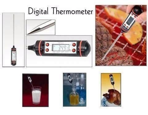 termômetro culinário digital original top line
