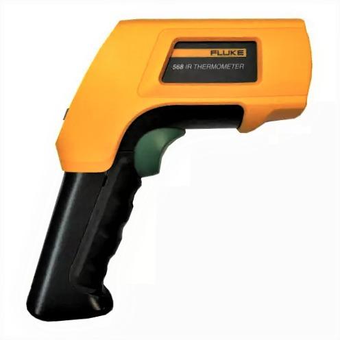 termômetro de contato e infravermelho 568 fluke