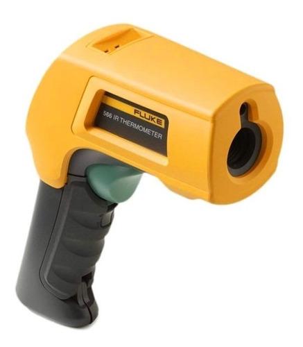 termômetro de contato e infravermelho fluke 566