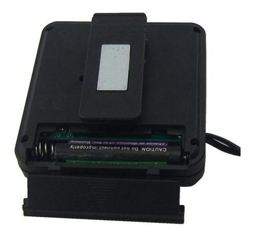 termômetro digital com 2 sensores para freezer e geladeira