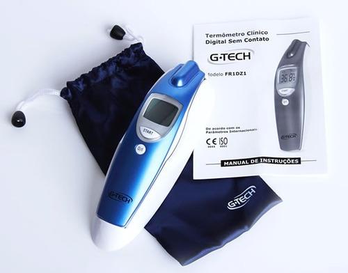 termômetro digital de testa clínico sem contato g-tech