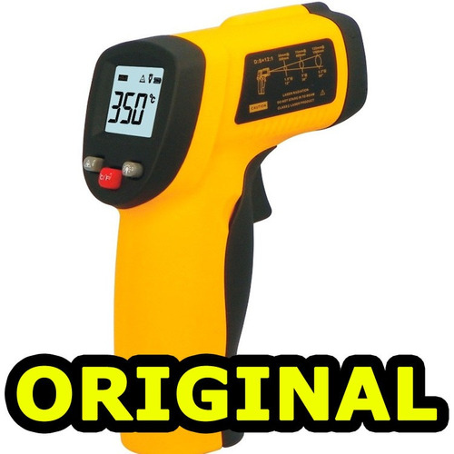 termômetro digital infravermelho com mira laser 32º a 380ºc