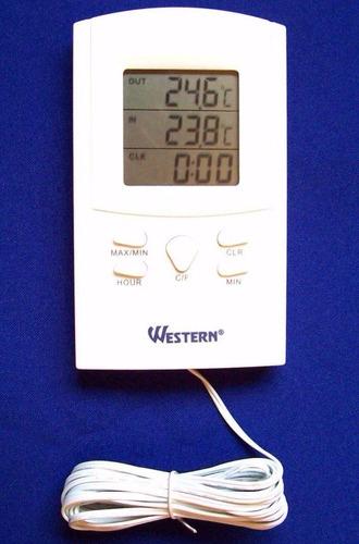 termômetro digital interno e externo com relógio