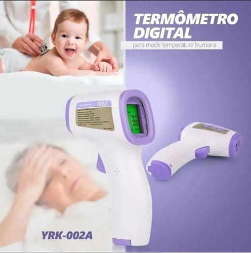 termômetro digital laser infravermelho temperatura corporal