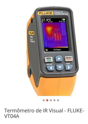 termômetro infravermelho fluke